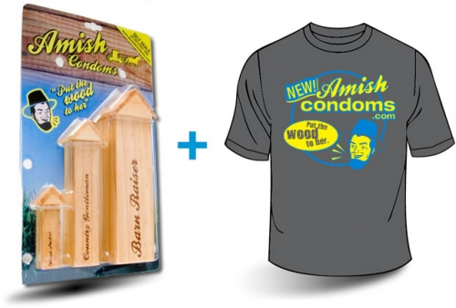 "Threesome Pack & T-Shirt  ""Put the Wood to Her"""